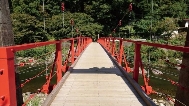 オススメ鑑賞ポイントその1「香嵐橋」