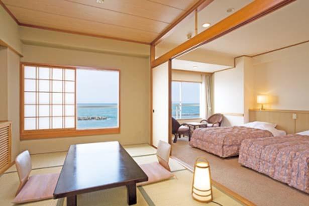 和室から和洋室、洋室まで全100室/皆生グランドホテル 天水