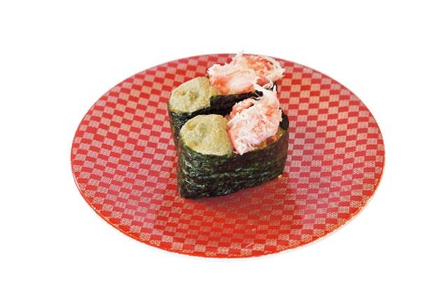 「かにミソ」(1皿171円・税別)/廻るお寿司屋さん 大漁丸 みなとさかい店
