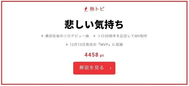桑田佳祐のソロ活動30周年を記念して制作されたベストMV集『MVP』は12/13(水)リリース
