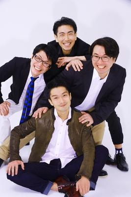 現在メンバーは渡部将之、冠仁、賢茂エイジ、森田和正の4人