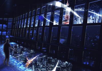 「 TOKYO TOWERCITY LIGHT FANTASIA」は展望料金のみで観覧可能。ロマンチックな雰囲気でデートにぴったり!