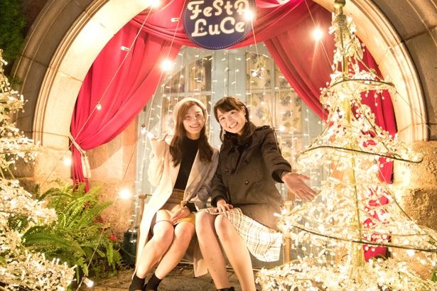 和歌山マリーナシティ「フェスタ・ルーチェ」が開催中