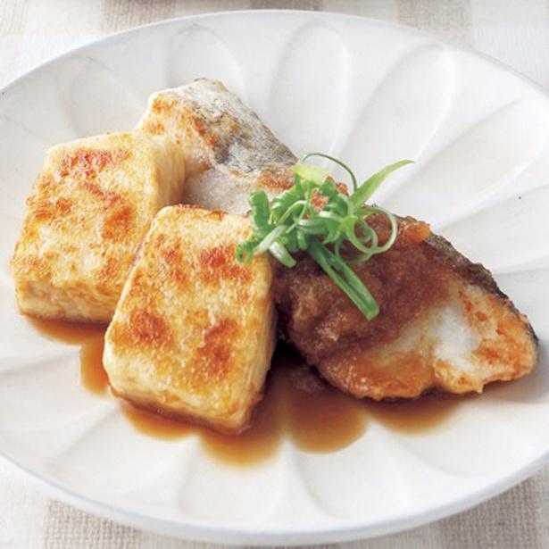 たらと豆腐のおろし煮