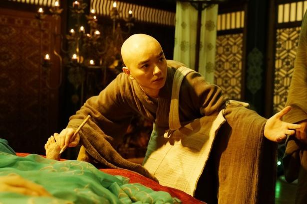 若き天才僧侶・空海を海外作品初主演となる染谷将太が演じる