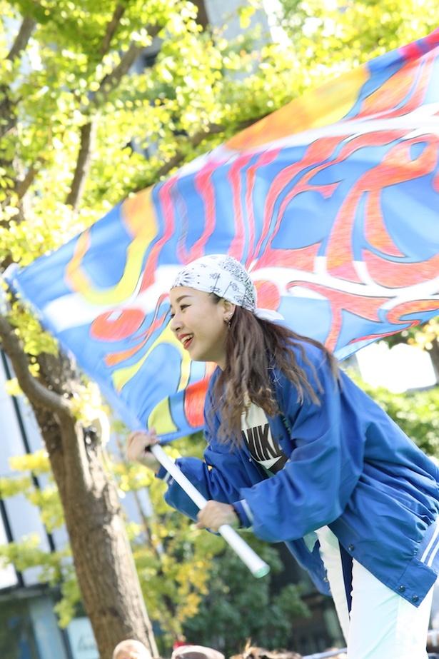 大阪芸術大学の学生によるダンスパフォーマンス