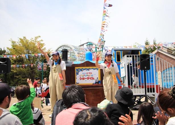 【写真を見る】富士急ハイランド内トーマスランドのクリスマスイベント開催!