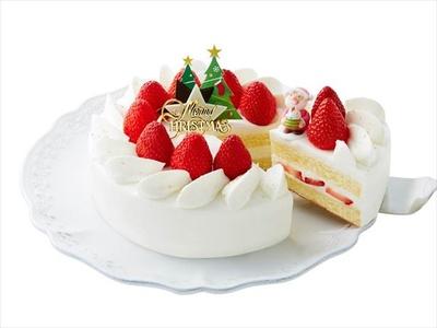「クリスマス ストロベリーショートケーキ」