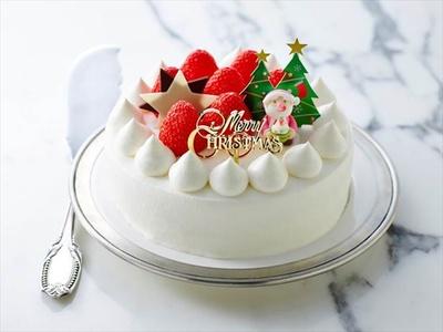 多種多様なクリスマスケーキを展開!