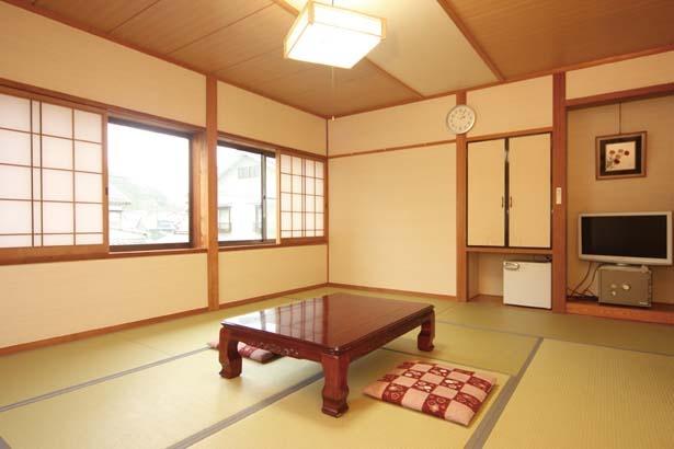 全6室の客室は、10畳と6畳の2タイプがそろう/海鮮の宿 民宿みさき