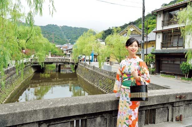 8代目城崎温泉観光大使の佛園万里菜(ぶつえんまりな)さん/城崎温泉