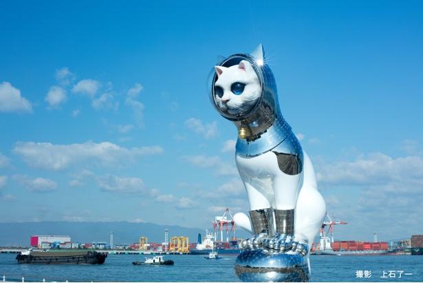 現代美術作家であるヤノベケンジ氏の《SHIP'S CAT》が登場する
