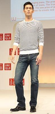 スリムフィットストレートジーンズ(3990円)は、メンズのイチオシ