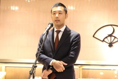 「上野のランドマークを目指していきたい」と大住佑介 代表取締役社長