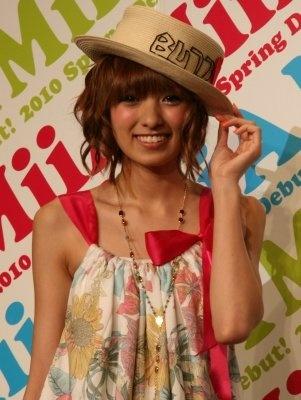 新ブランド「MiiA(ミーア)」のファッションディレクターに就任したタレントの南明奈さん