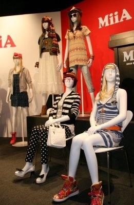 新ブランド「MiiA(ミーア)」のアイテム