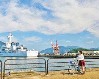 海軍ゆかりの地としても知られる舞鶴