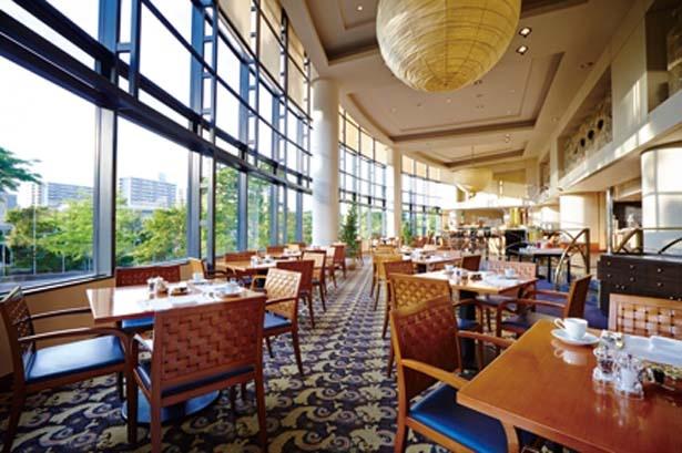 会場はホテル1階のザ・カフェ/ハイアット リージェンシー 大阪