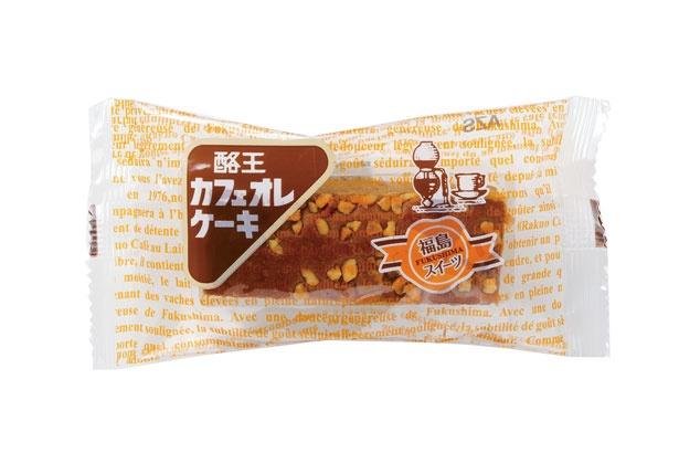 福島県のソウルドリンク「酪王カフェオレ」を使用した焼き菓子
