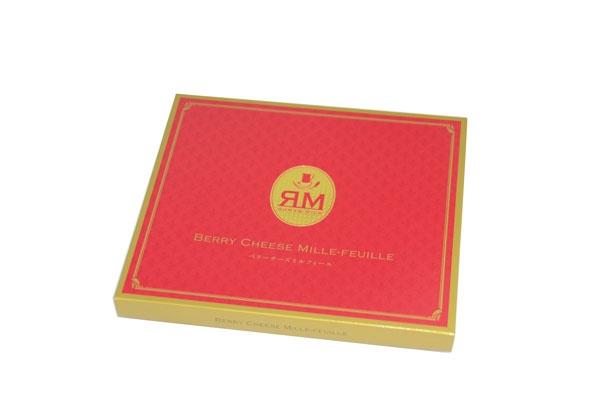 「ベリーチーズミルフィーユ」(10個入り1512円)