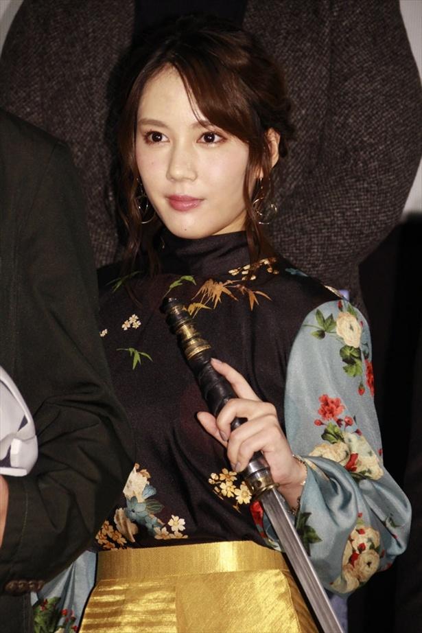 剣を操るフレッシュな女優・山本千尋とは?