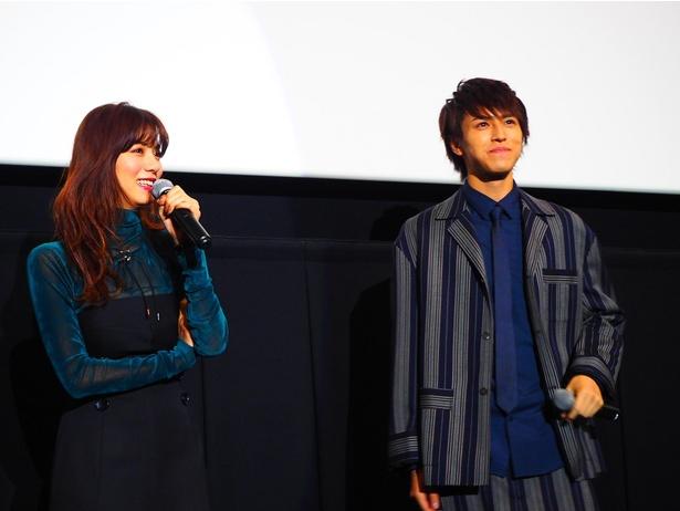 モデル時代から知り合いだったという池田と松尾