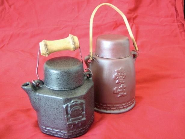 ルート中盤のマルシェ駅ではお茶を入れる汽車土瓶(500円)が販売
