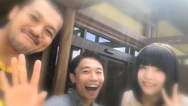 """ねもは、茨城県出身の芸人・カミナリのまなぶとたくみと共に、""""いばジェニック""""スポット(≒茨城県民のみぞ知る写真映えスポット)を紹介していく"""