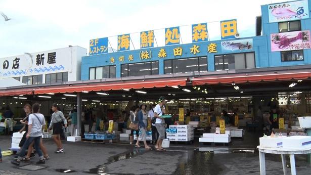 #4以降で訪れる那珂湊おさかな市場