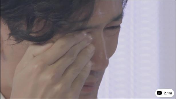 【写真を見る】これまで決して見せたことのない稲垣の涙
