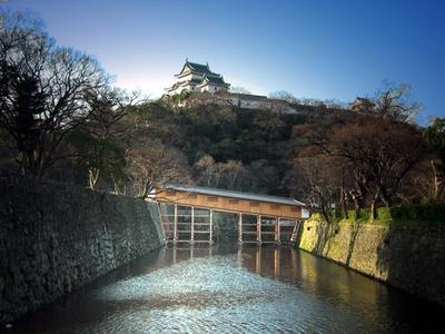 和歌山城の「天守閣」と「御橋廊下」