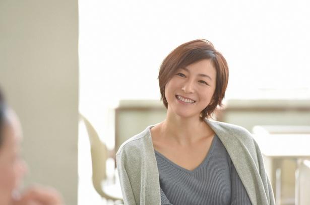 ドラマ「奥様は、取り扱い注意」で優里を演じる広末涼子