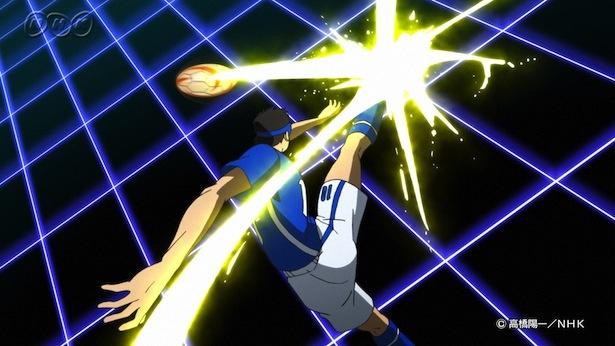 人気サッカーマンガ「キャプテン翼」の作者の高橋陽一は、ブラインドサッカーを題材にしたアニメを手掛ける