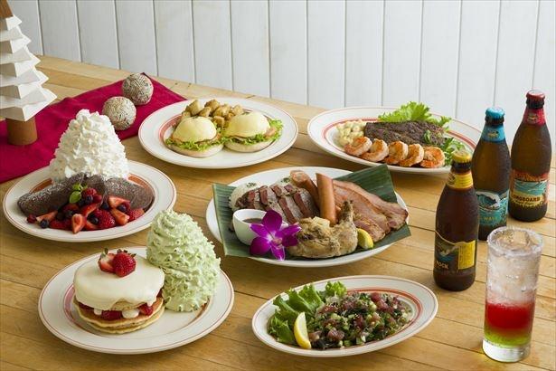エッグスンシングスが贈るクリスマス限定の特別メニュー「Aloha Christmas」