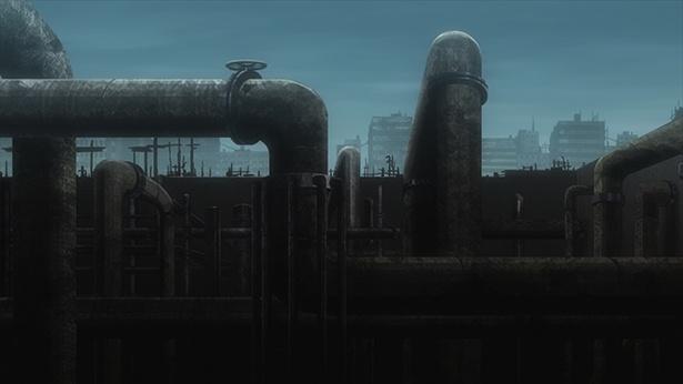 「少女終末旅行」第7話の先行カットが到着。パイプだらけの迷路でチトとユーリは…