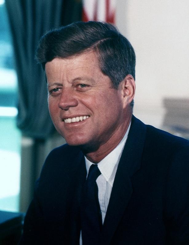第35代アメリカ大統領JFK。龍馬と同じく暗殺の黒幕ミステリーが注目される