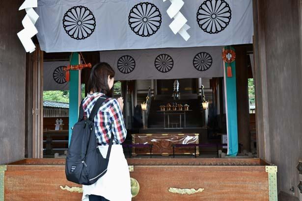 本殿を参拝して真名井神社へ/元伊勢 籠神社