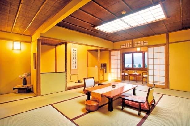 標準客室から特別室の蓬莱まで全11室/茶六別館
