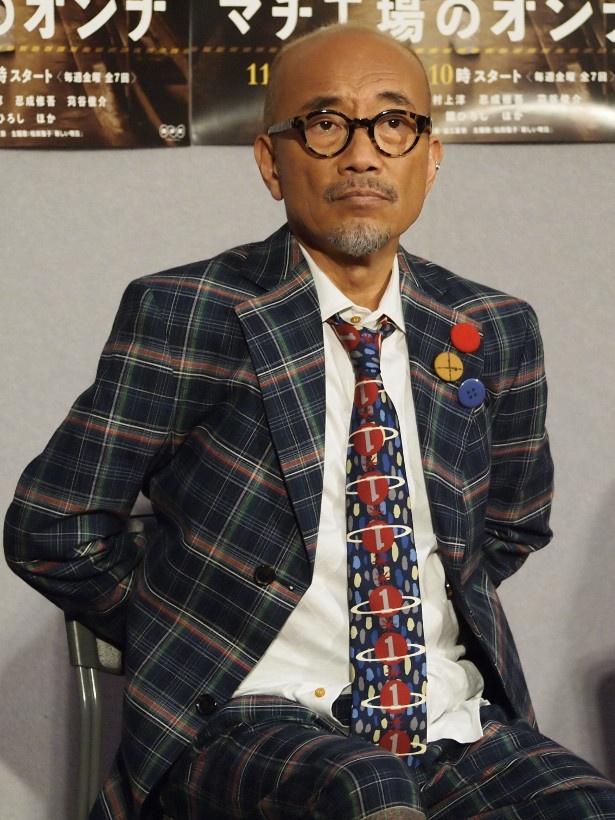 「撮影地・名古屋の魅力を知ることができた」と撮影を振り返った竹中直人