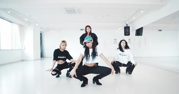 BANANALEMONの新曲「GIRLS GONE WILD」ダンスプラクティス動画