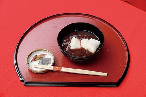 「小倉大納言ぜんざい」(600円)/小倉茶店 四季庵
