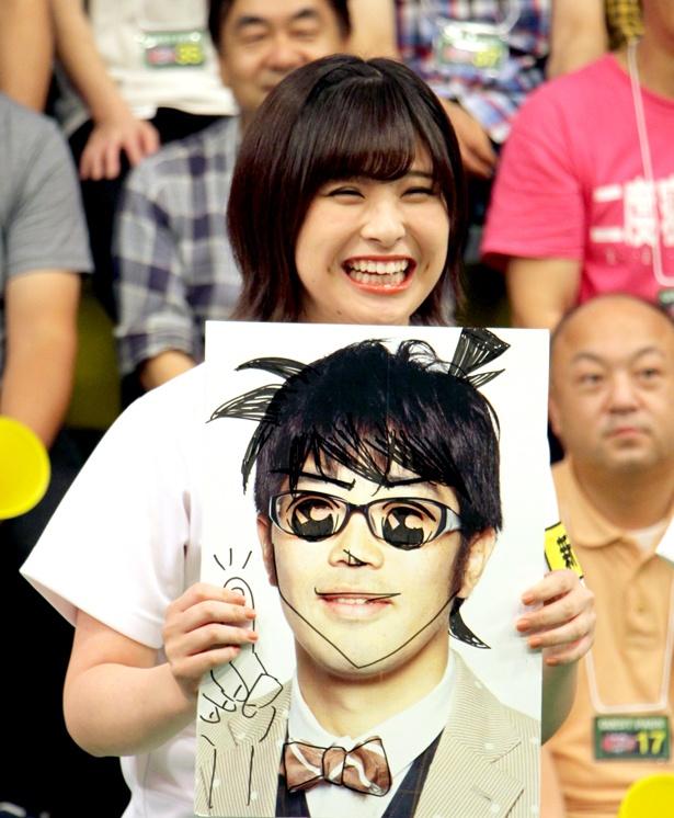 佐藤栞が披露した「らくがきボケ」にスタジオは爆笑