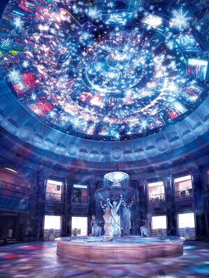"""ヴィーナスフォートではプロジェクションマッピングとイルミネーションが融合。ここでしか体感できない""""劇場型""""空間が楽しめる"""