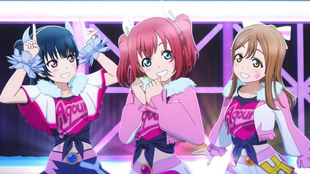"""「ラブライブ!サンシャイン!! TVアニメ2期」第6話のカットが到着。本当に""""普通で非力""""なのか…その答えを求めて大技に挑む!"""