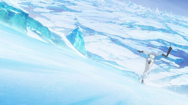 「宝石の国」第7話の先行カットが到着。冬眠をしないフォスが流氷に話しかけられ…
