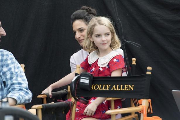 本作では7歳の少女を演じたグレイス