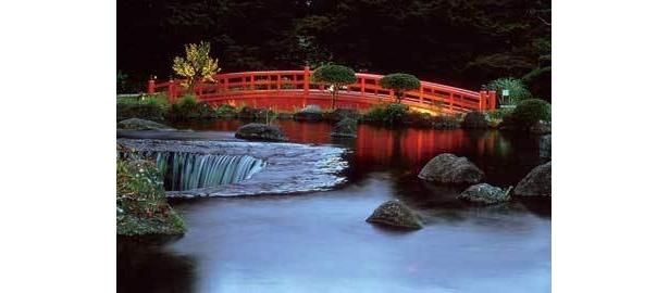 「ホテルニューオータニ」の日本庭園