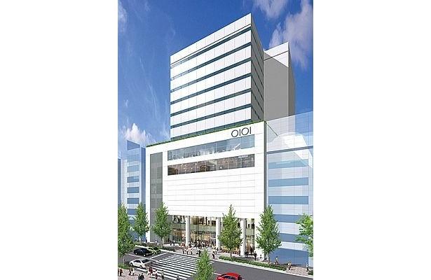 丸井の本店は、実は中野にある。現在立替中で、2010年冬をメドに店舗とオフィスの複合ビルとして復活する