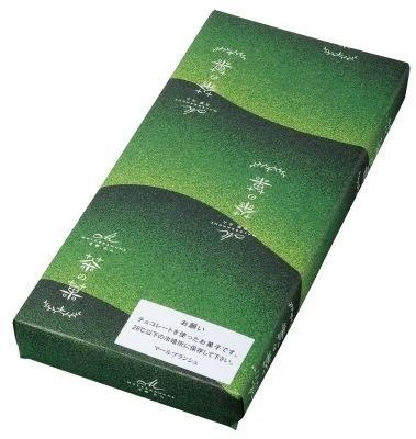 【1位】お濃茶ラングドシャ茶の菓(10枚入り1260円) /6F 関西・東海フロア