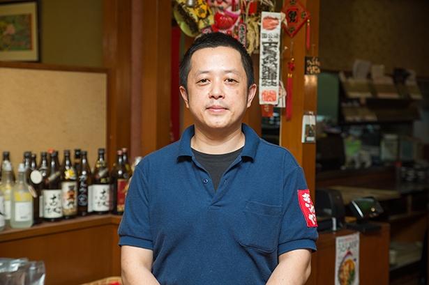 原田店を任されている統括マネージャーの田中悠喜さん